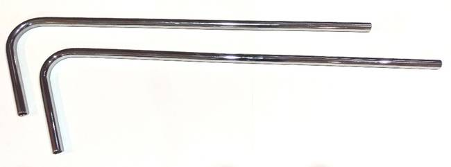 chrome side bar 19mm universal lh and rh