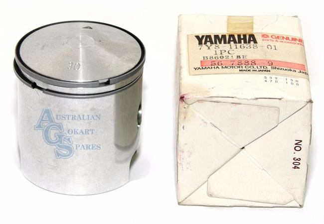 PISTON AND RINGS YAMAHA KT135 54 94