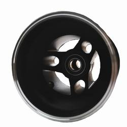 FRONT FUTURA WHEEL ALLOY WITH BEARINGS BLACK DIRT TRACK product image