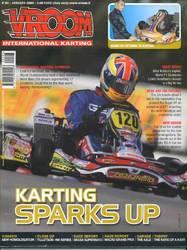 93 VROOM KART MAGAZINE JAN 2009 product image