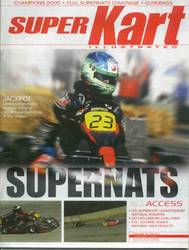 SUPER KART ILLUSTRATED JAN 2006 product image