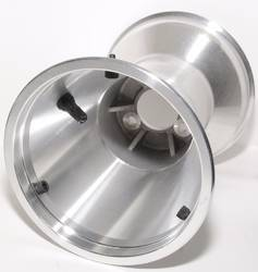 REAR WHEEL ALLOY STANDARD EDWARDS 8'' WIDE X 6'' DIA.WITH BEAD LOCKS product image