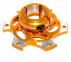 BRAKE DISC CARRIER 40mm SKM GOLD ALLOY product image