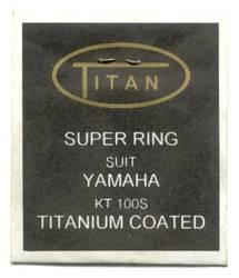 No 16 52.25 YAMAHA KT100S TITANIUM COATED PISTON RING  product image