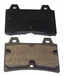 No 10/14 BRAKE PAD SET 15mm HARD product image