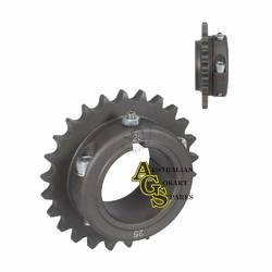 REAR ALLOY ERGAL 25T 428/50MM SPROCKET product image