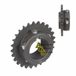 REAR ALLOY ERGAL 27T 428/50MM SPROCKET product image