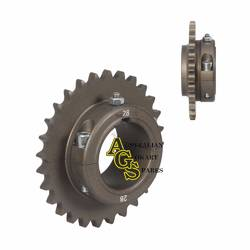 REAR ALLOY ERGAL 28T 428/50MM SPROCKET product image