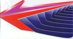 ARROW AX8 NOSE CONE SIDE STICKERS product image