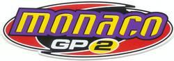 STICKER MONACO GP2 LARGE 115 X 325MM product image