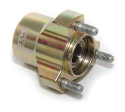 FRONT WHEEL HUB 60MM X 17MM SHAFT GOLD otk product image