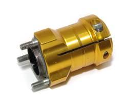 REAR WHEEL HUB 40MM X 78MM GOLD AX6 S/HAND product image
