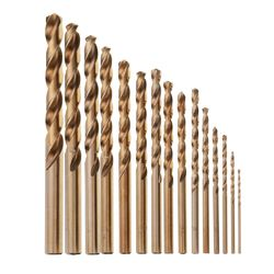 DRILLPRO HSS M35 COBOLT TWIST DRILLS 10-1.5MM [QTY 15] product image