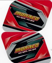 FUEL TANK STICKER SET M4 MONACO 3.5 LITRE product image