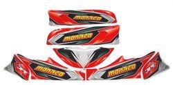 MONACO M4 REPAIR STICKER SET SENIOR product image