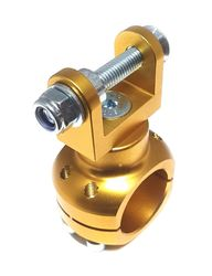 MOUNT BRACKET REMOTE WATER PUMP 32MM GOLD product image