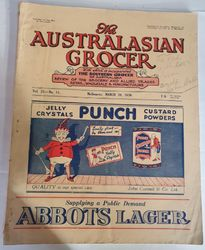 THE AUSTRALASIAN GROCER MARCH 20 1936 product image