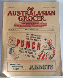 THE AUSTRALISIAN GROCER MARCH 20 1937 product image