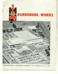 IH DANDENONG WORKS AB INTERNATIONAL TRUCK product image