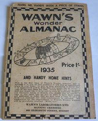 WAWN'S WONDER ALMANAC product image
