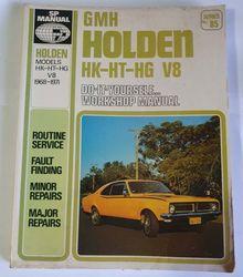 HOLDEN HK-HT-HG V8 MANUAL product image