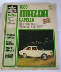 MAZDA CAPELLA 1600 WORKSHOP MANUAL 1970-73 product image