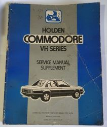 GENUINE VH COMMODORE  HOLDEN WORKSHOP MANUAL product image