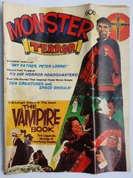 MONSTER TERROR MAGAZINE product image