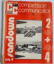 COMPETITION COMMUNICATOR JULY 1973 product image