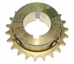 STEEL REAR SPROCKET AND HUB 40MM 21 TEETH product image