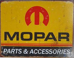 METAL GARAGE SIGN MOPAR product image