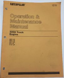 3208 CATERPILLAR TRUCK ENGINE MANUAL product image