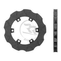 BRAKE DISC FLOATING 195MM X 18MM WITH SLOTS product image